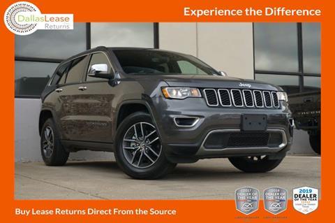 2018 Jeep Grand Cherokee for sale in Dallas, TX