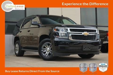 2015 Chevrolet Tahoe for sale in Dallas, TX