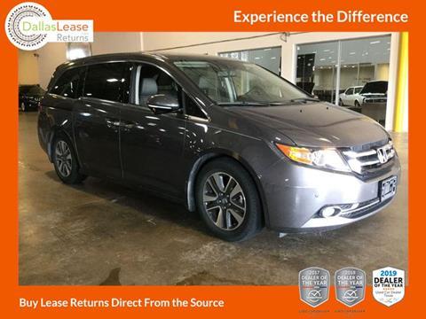 2016 Honda Odyssey for sale in Dallas, TX