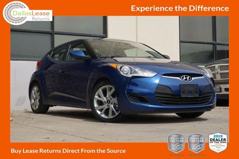 2016 Hyundai Veloster for sale in Dallas, TX