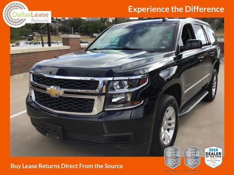 2016 Chevrolet Tahoe for sale in Dallas, TX
