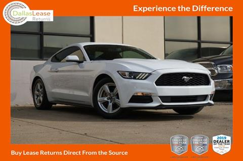 2017 Ford Mustang for sale in Dallas, TX