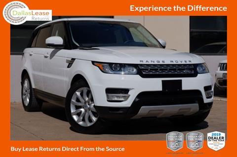 2016 Land Rover Range Rover Sport for sale in Dallas, TX