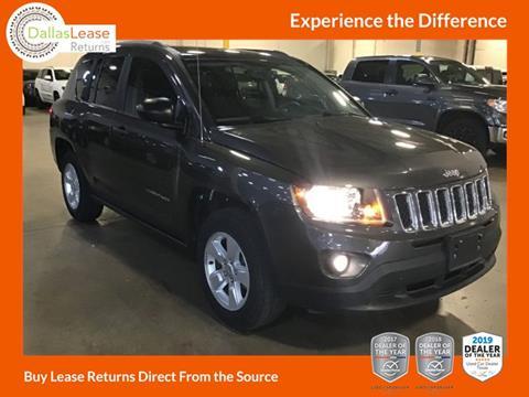 2016 Jeep Compass for sale in Dallas, TX