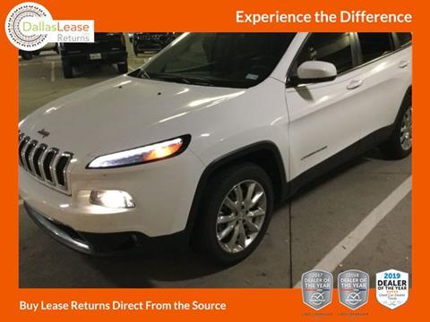 2016 Jeep Cherokee for sale in Dallas, TX