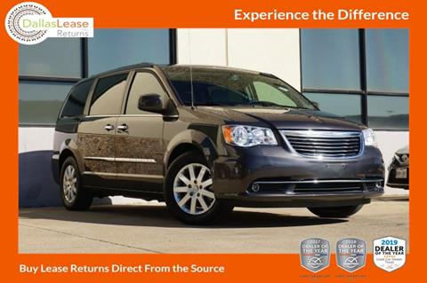 2016 Chrysler Town and Country for sale in Dallas, TX