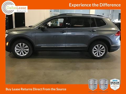 2018 Volkswagen Tiguan for sale in Dallas, TX