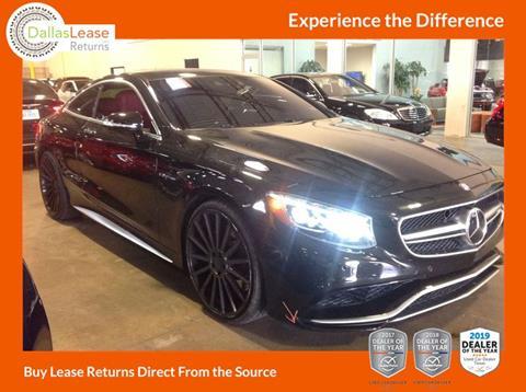 2016 Mercedes-Benz S-Class for sale in Dallas, TX