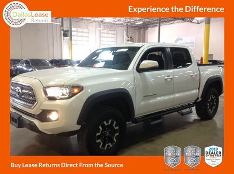 2017 Toyota Tacoma for sale in Dallas, TX
