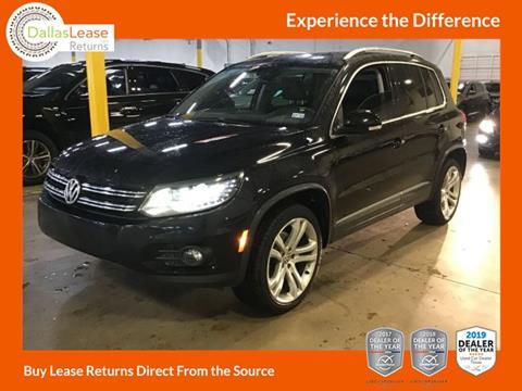 2013 Volkswagen Tiguan for sale in Dallas, TX