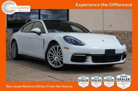 2019 Porsche Panamera for sale at Dallas Auto Finance in Dallas TX