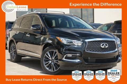 2017 Infiniti QX60 for sale at Dallas Auto Finance in Dallas TX