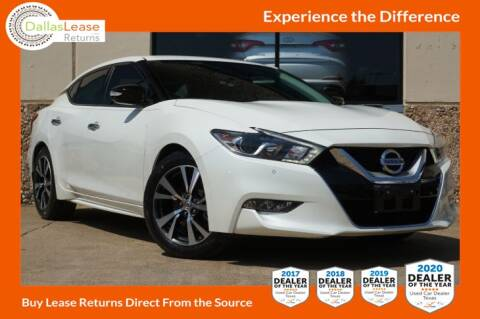 2017 Nissan Maxima for sale at Dallas Auto Finance in Dallas TX