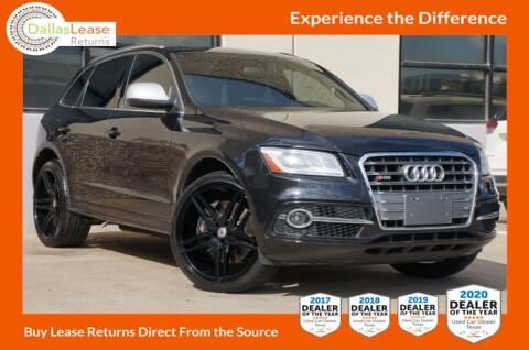 2014 Audi SQ5 for sale at Dallas Auto Finance in Dallas TX