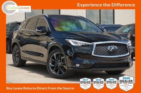2019 Infiniti QX50 for sale at Dallas Auto Finance in Dallas TX