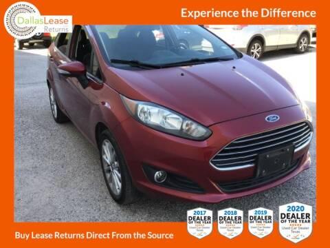 2014 Ford Fiesta for sale at Dallas Auto Finance in Dallas TX