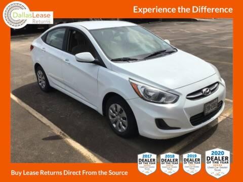2015 Hyundai Accent for sale at Dallas Auto Finance in Dallas TX