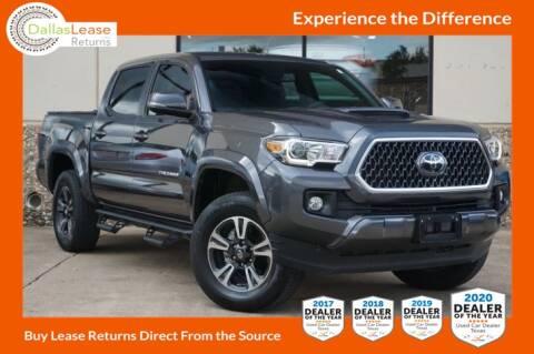 2018 Toyota Tacoma for sale at Dallas Auto Finance in Dallas TX