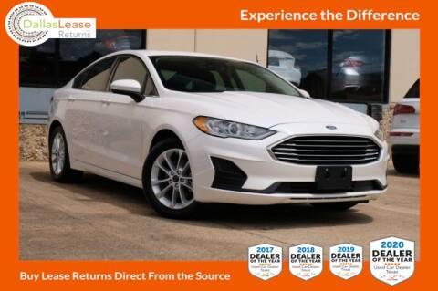 2019 Ford Fusion for sale at Dallas Auto Finance in Dallas TX