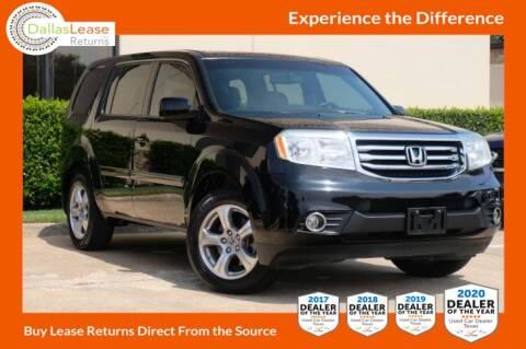 2012 Honda Pilot for sale at Dallas Auto Finance in Dallas TX