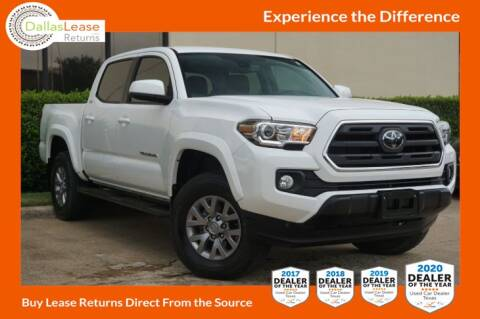 2018 Toyota Tacoma for sale at Dallas Auto Finance in Dallas TX