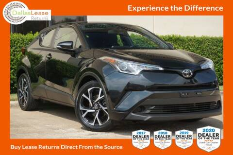 2018 Toyota C-HR for sale at Dallas Auto Finance in Dallas TX