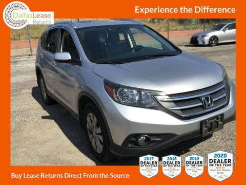 2013 Honda CR-V for sale at Dallas Auto Finance in Dallas TX