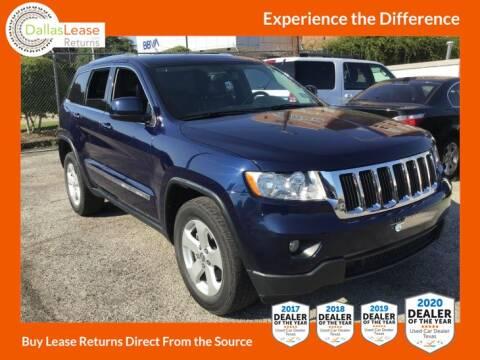 2012 Jeep Grand Cherokee for sale at Dallas Auto Finance in Dallas TX