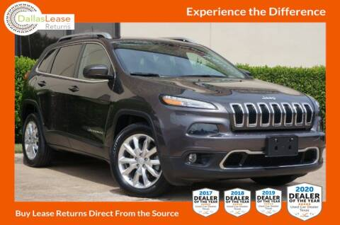 2017 Jeep Cherokee for sale at Dallas Auto Finance in Dallas TX