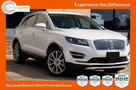 2019 Lincoln MKC for sale at Dallas Auto Finance in Dallas TX