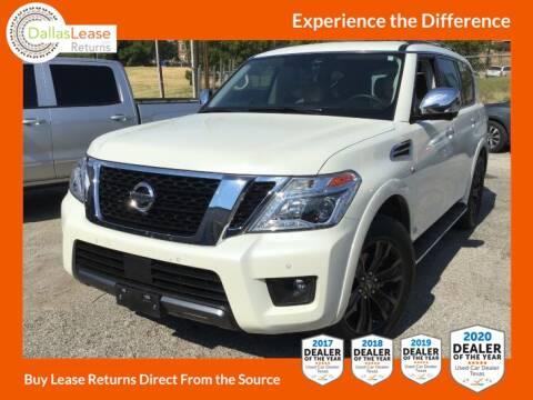 2019 Nissan Armada for sale at Dallas Auto Finance in Dallas TX