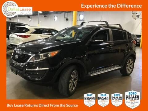 2014 Kia Sportage for sale at Dallas Auto Finance in Dallas TX