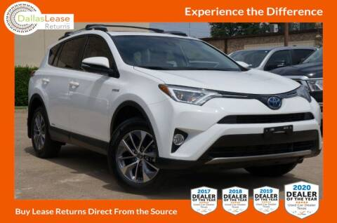 2017 Toyota RAV4 Hybrid for sale at Dallas Auto Finance in Dallas TX