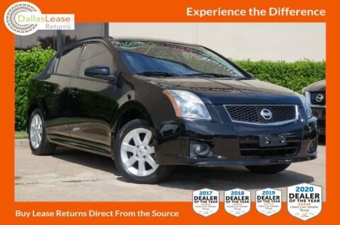 2010 Nissan Sentra for sale at Dallas Auto Finance in Dallas TX