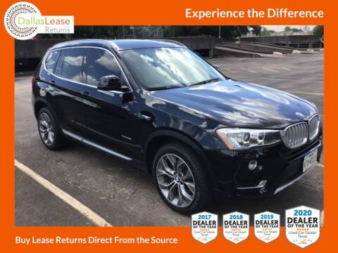 2017 BMW X3 for sale at Dallas Auto Finance in Dallas TX