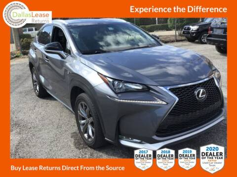 2017 Lexus NX 200t for sale at Dallas Auto Finance in Dallas TX
