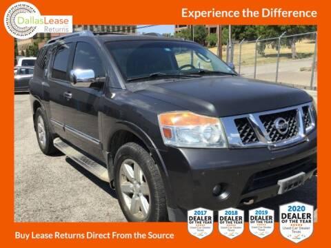 2010 Nissan Armada for sale at Dallas Auto Finance in Dallas TX