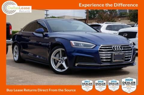 2018 Audi A5 for sale at Dallas Auto Finance in Dallas TX