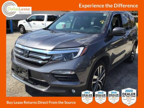2017 Honda Pilot for sale at Dallas Auto Finance in Dallas TX