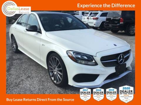 2018 Mercedes-Benz C-Class for sale at Dallas Auto Finance in Dallas TX