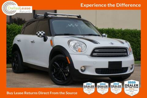 2016 MINI Countryman for sale at Dallas Auto Finance in Dallas TX