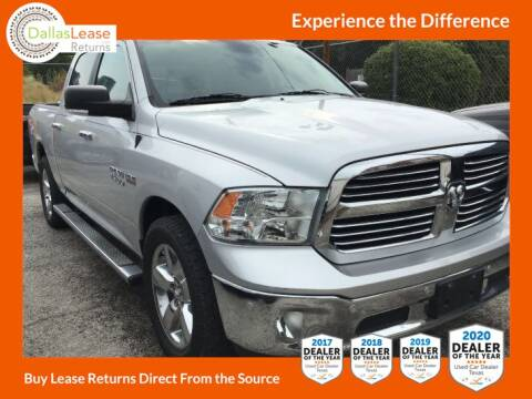 2015 RAM Ram Pickup 1500 for sale at Dallas Auto Finance in Dallas TX