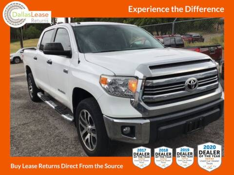 2016 Toyota Tundra for sale at Dallas Auto Finance in Dallas TX