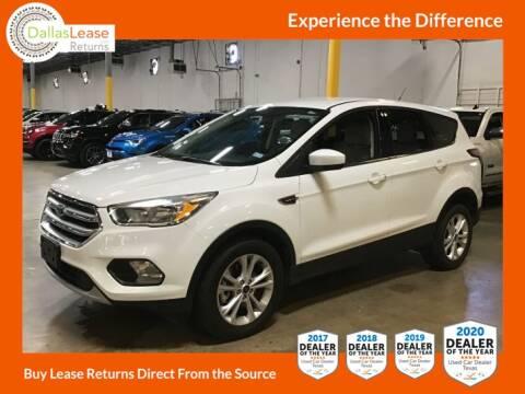 2017 Ford Escape for sale at Dallas Auto Finance in Dallas TX