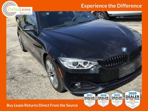 2017 BMW 4 Series for sale at Dallas Auto Finance in Dallas TX