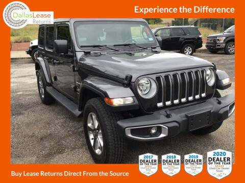 2018 Jeep Wrangler Unlimited for sale at Dallas Auto Finance in Dallas TX