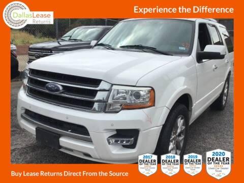 2015 Ford Expedition for sale at Dallas Auto Finance in Dallas TX
