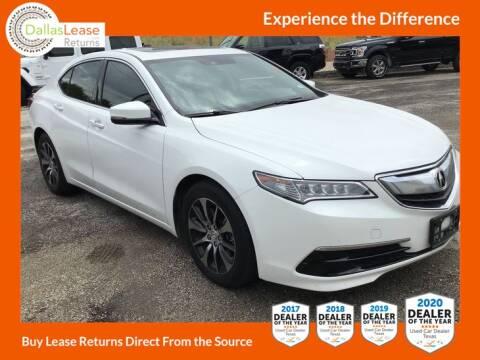 2015 Acura TLX for sale at Dallas Auto Finance in Dallas TX