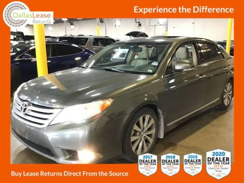 2012 Toyota Avalon for sale at Dallas Auto Finance in Dallas TX