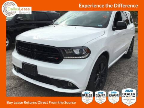 2018 Dodge Durango for sale at Dallas Auto Finance in Dallas TX